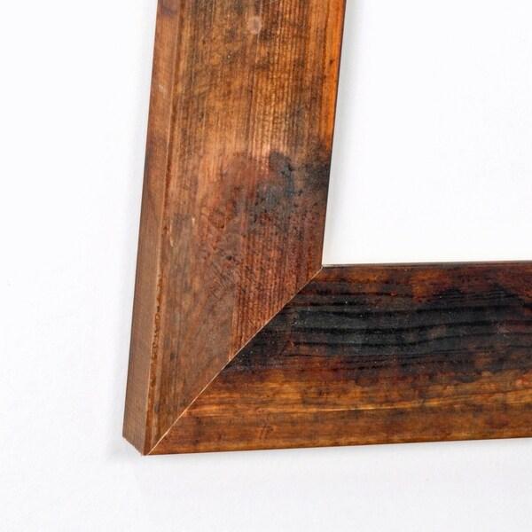 Burnt Mahogany 32.5 x 66 - Inch Floor Mirror - Brown/Black - Free ...