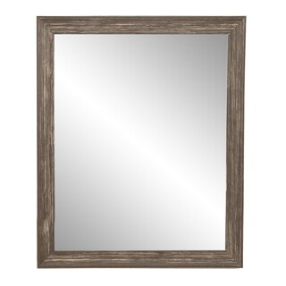 Multi Size Urban Cottage Wall Mirror - Brown