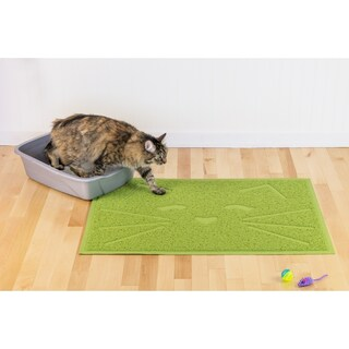 Tiger Tough Tidy Paws Litter & Food Mat
