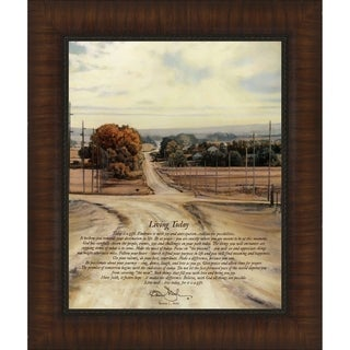 Living Today By Bonnie Mohr, Wall Art
