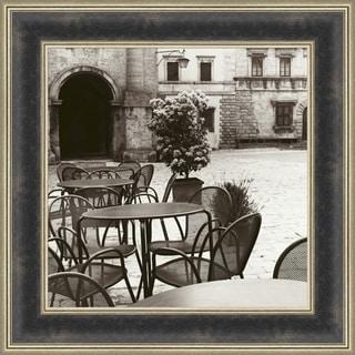 Cafe Toscana By Alan Blaustein, Wall Art