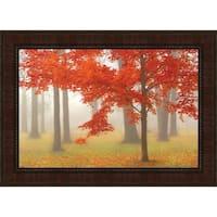 Autumn Mist I By Donna Geissler, Fine Art Print