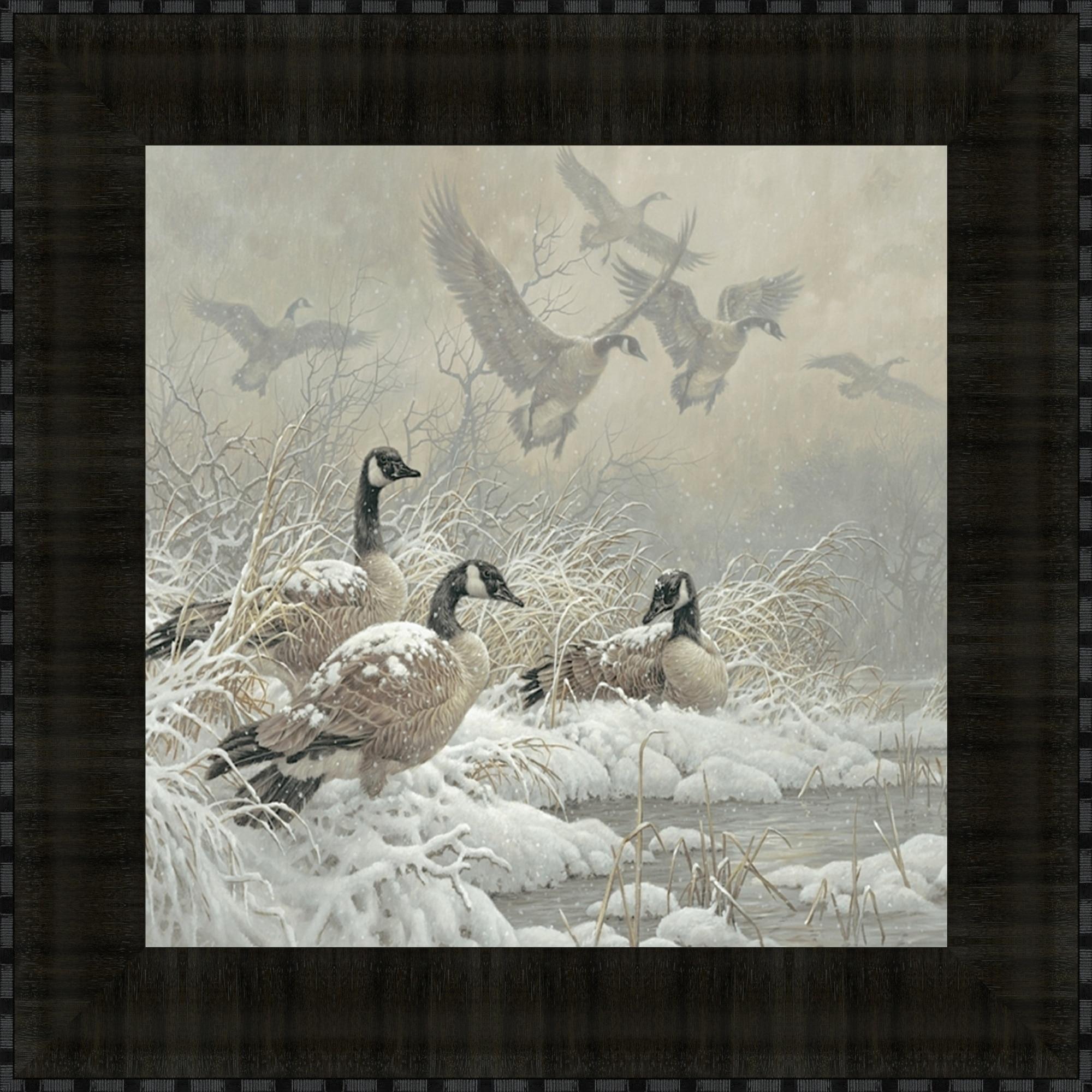 Tangletow Winter Retreat By Larry E. Fanning, Fine Art Pr...