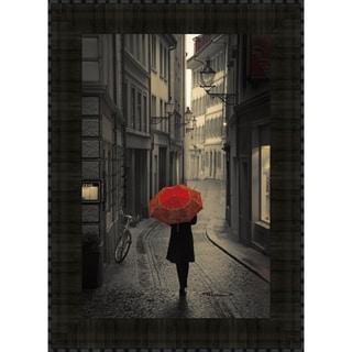 Red Rain By Stefano Corso, Wall Art