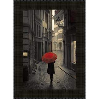 Red Rain By Stefano Corso, Wall Art