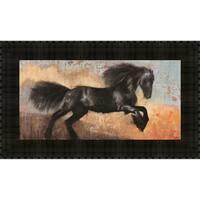 Black Stallion By Dario Moschetta, Wall Art