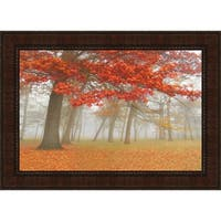 Autumn Mist II By Donna Geissler, Fine Art Print