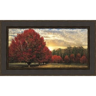Crimson Trees By Celebrate Life Gallery Framed Photographic Print, Fine Art Print