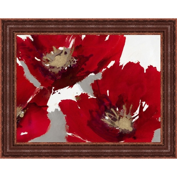 Red Poppy Forest II By Natasha Barnes, Fine Art Print