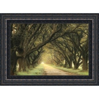 Evergreen Alley By William Guion, Fine Art Print