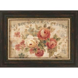 Parisian Flowers III By Danhui Nai, Fine Art Print