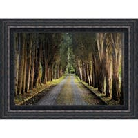 Tree Tunnel By Michael Cahill, Fine Art Print
