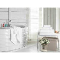 Grund Certified Organic Cotton Towel Sheet, Pinehurst Collection, White