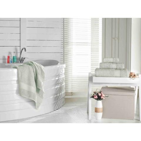 Grund America Certified 100% Organic Cotton Towels, Pinehurst Collection (Sage)