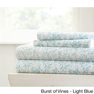 Becky Cameron Premium Ultra Printed 4-piece Bed Sheets Set (More options available)