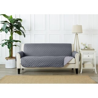 Home Fashion Designs Kaylee Collection Quilted Reversible Sofa Protector (More options available)