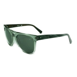Kenneth Cole Unisex KC7197 20N Clear/Grey w/ Green/Grey Lens Sunglasses