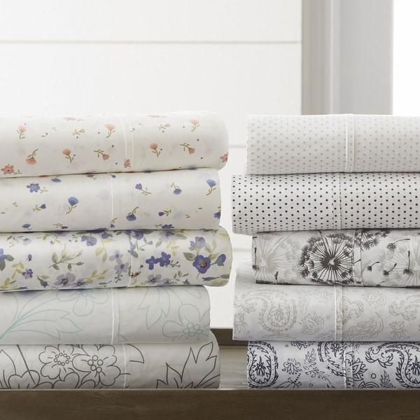 Becky Cameron Premium Ultra Soft Printed 4 Piece Bed Sheet Set