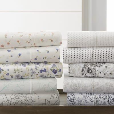 Becky Cameron Premium Ultra Soft Printed 4-piece Bed Sheet Set