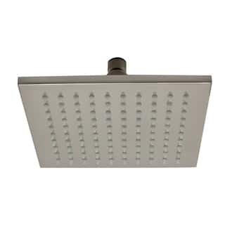 "ALFI brand LED8S-BN Brushed Nickel 8"" Square Multi Color LED Rain Shower Head