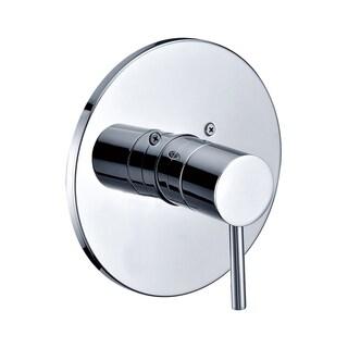 ALFI brand AB1601-BN Brushed Nickel Pressure Balanced Round Shower Mixer