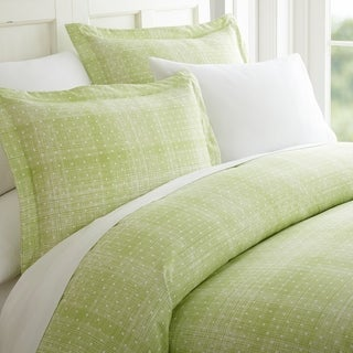 Becky Cameron Premium Ultra Soft 3 Piece Printed Duvet Cover Set (Twin - Twin XL - polka dot-moss)