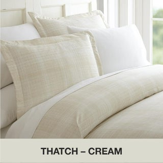 Becky Cameron Premium Ultra Soft 3 Piece Printed Duvet Cover Set (Option: Twin - Twin XL - thatch-ray)