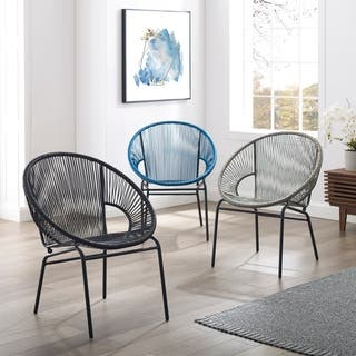 Sarcelles Woven Wicker Patio Chairs by Corvus (Set of 2)|https://ak1.ostkcdn.com/images/products/17805619/P23999647.jpg?impolicy=medium