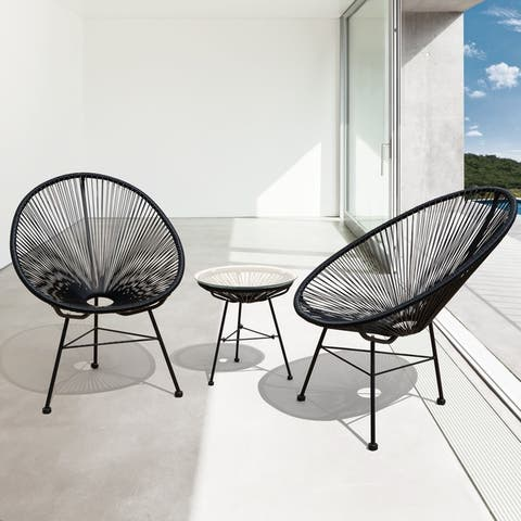 Pleasing Black Patio Furniture Find Great Outdoor Seating Dining Download Free Architecture Designs Grimeyleaguecom