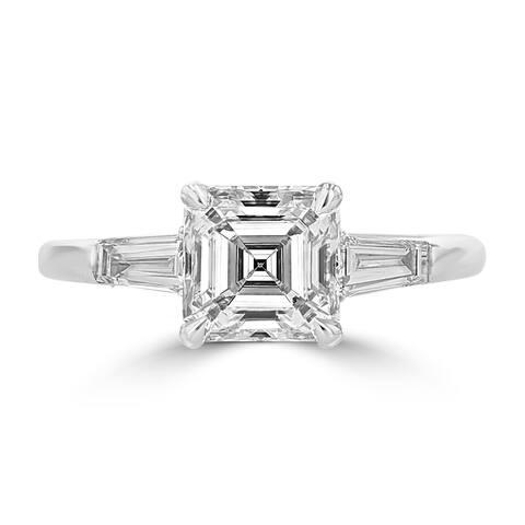 La Vita Vital Platinum Diamond 1.90TDW Engagement Ring - White G-H - White G-H