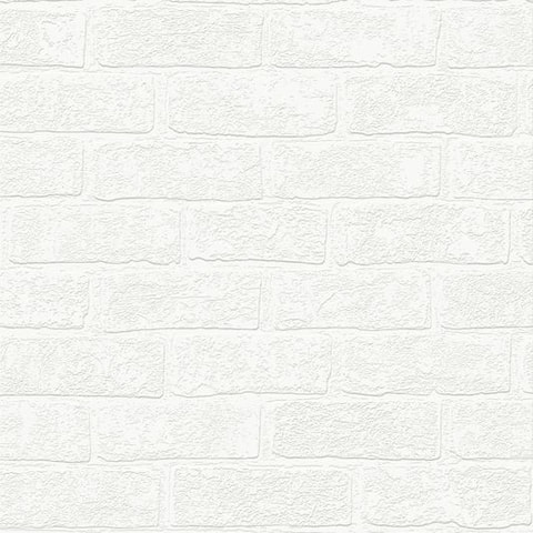 Graham & Brown Urban Brick Paintable Wallpaper