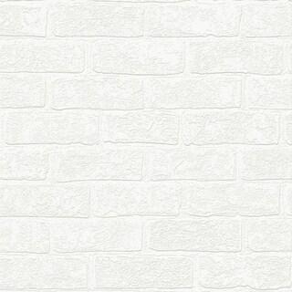 Graham U0026 Brown Urban Brick Paintable Wallpaper