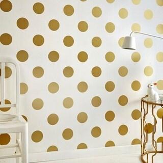 Graham & Brown Dotty Gold Wallpaper