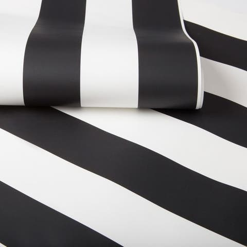 Graham & Brown Monochrome Stripe Wallpaper