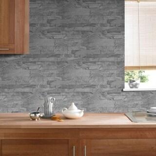 New Brick Grey Wallpaper