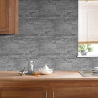 Graham & Brown New Brick Grey Wallpaper