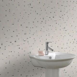 Graham & Brown Spa Black & White Wallpaper
