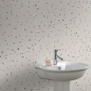 Graham & Brown Spa Black & White Wallpaper