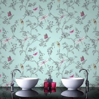 Graham & Brown Nature Trail Duck Egg Wallpaper|https://ak1.ostkcdn.com/images/products/17805784/P23999861.jpg?impolicy=medium