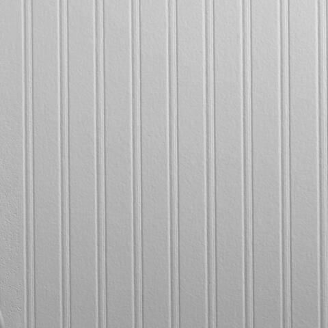 Graham & Brown Beadboard Pre-pasted Paintable Wallpaper