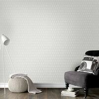 Graham & Brown Triangolin Grey Wallpaper