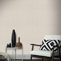 Graham & Brown Trellis Taupe Wallpaper