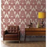 Graham & Brown Regent Red Wallpaper