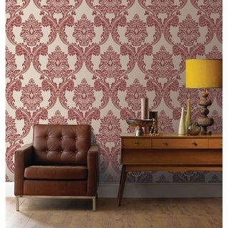 Graham & Brown Regent Red Wallpaper
