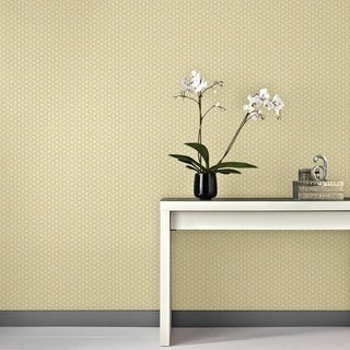 Graham & Brown Helice Jaune Wallpaper