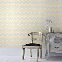 Graham & Brown Oiti Yellow Wallpaper