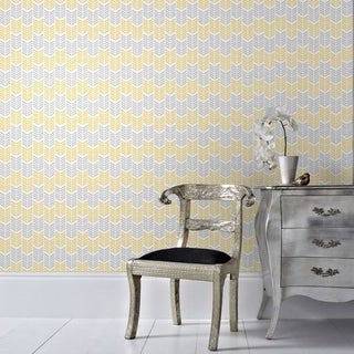 Graham & Brown Oiti Yellow Wallpaper
