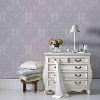 Graham & Brown Melody Lilac Wallpaper