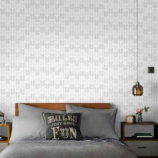Graham & Brown Oiti Silver Wallpaper