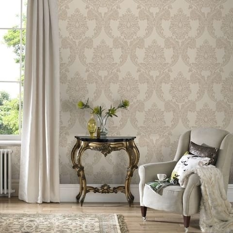 Graham & Brown Regent Neutral Wallpaper
